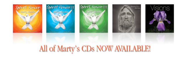 All of Marty's CDs Now Available On-Line